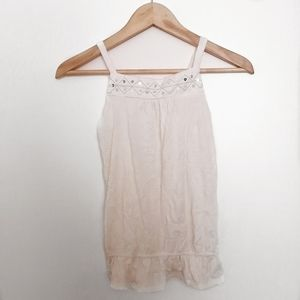 3/30$ 1989 Place Creamy White Tank Top
